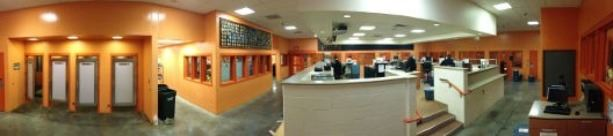 County Jail Panoramic Photo