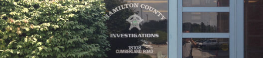 Hamilton County Investigations Office Door