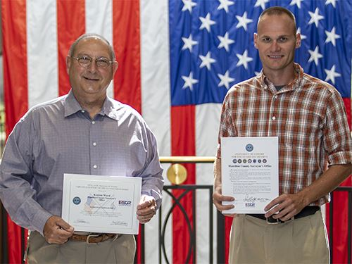 Kenton Ward Given Patriotic Employer Award