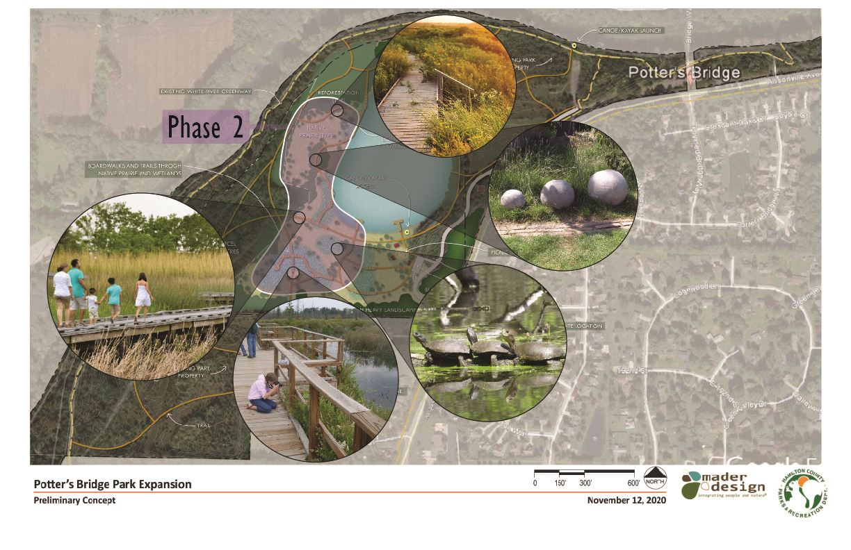 Potter's Bridge Park Expansion Master Plan and Phases Page 4