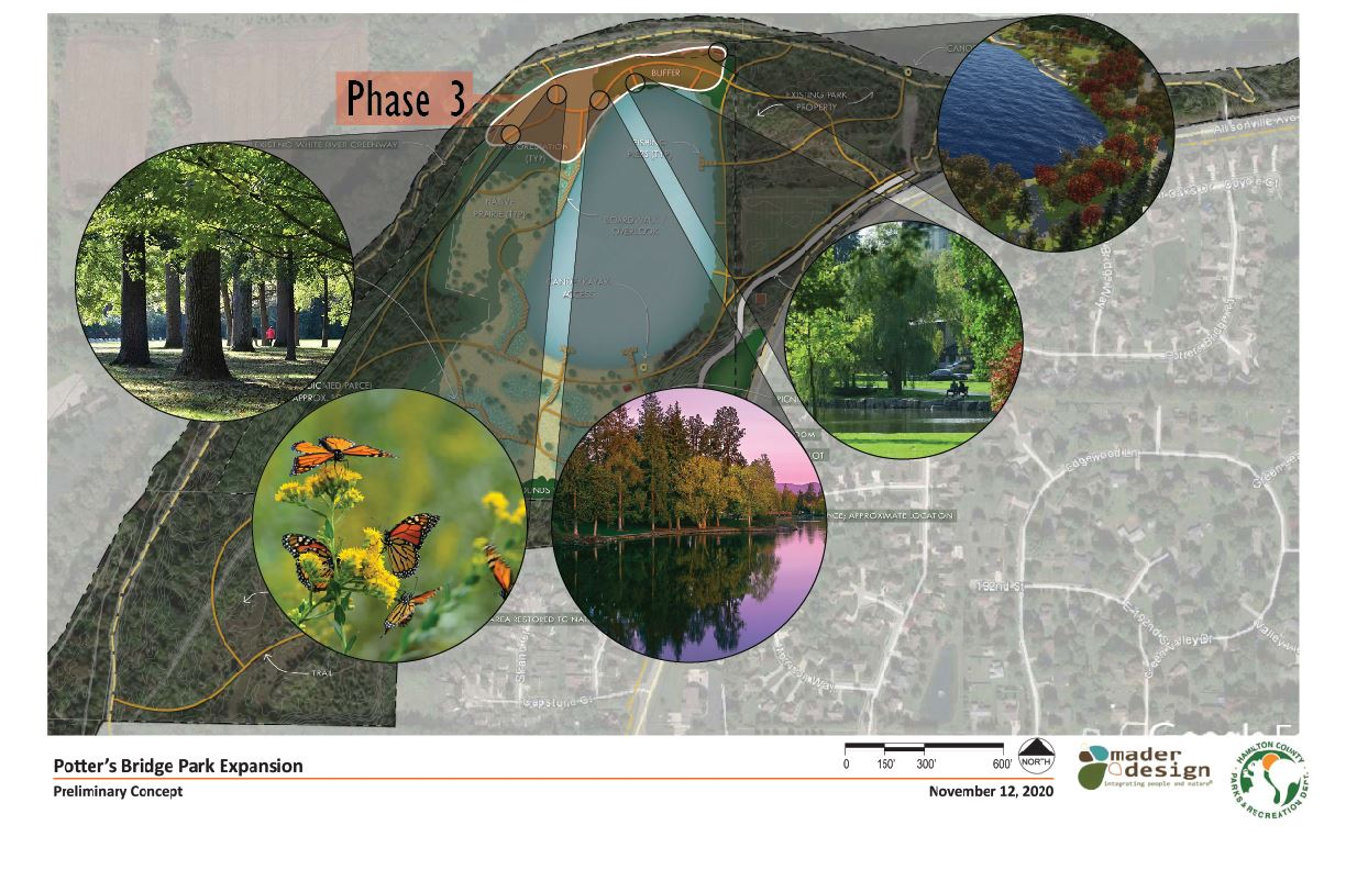 Potter's Bridge Park Expansion Master Plan and Phases Page 5