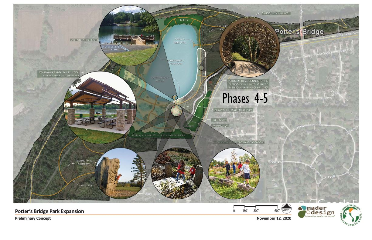 Potter's Bridge Park Expansion Master Plan and Phases Page 6