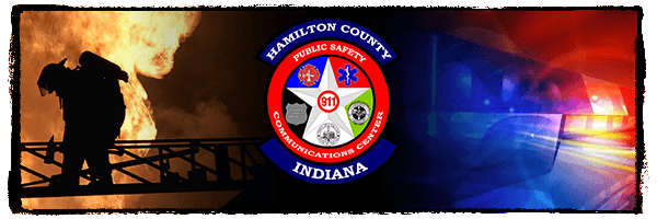 Hamilton County Indiana 911 Communications Banner