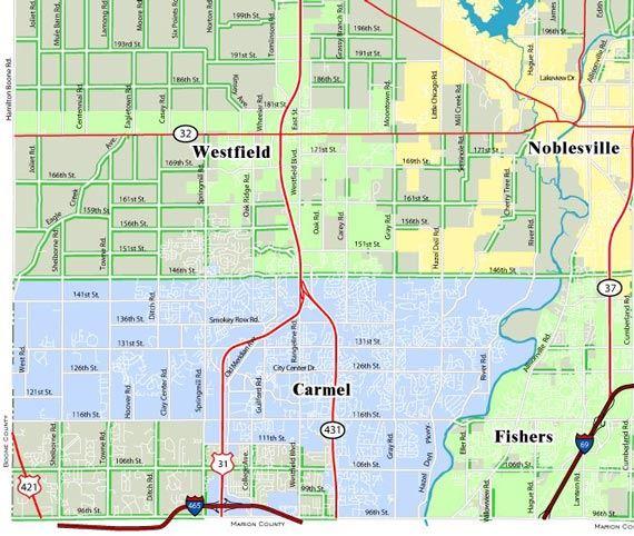 Quadrant Definitions Hamilton County In