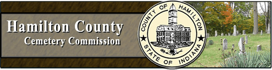 Hamilton County Cemetery Commission logo with County crest